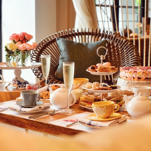 It's Always Teatime At Our Beach House