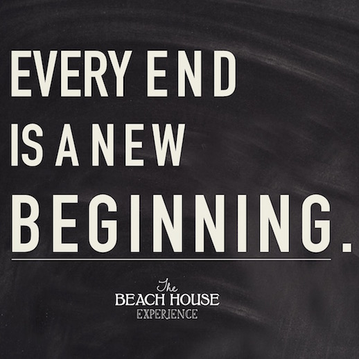 every end is a new beginning Every new beginning comes from some other beginning's end - seneca quotes  from brainyquotecom.