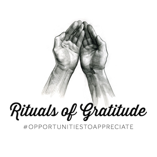 RITUALS OF GRATITUDE AT OUR BEACH HOUSE