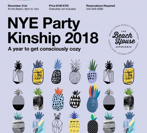 ​Celebrate The New Year At Our Beach House With Kinship 2018