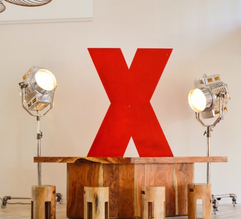 WELCOME DESK AT TEDx SEVEN MILE BEACH