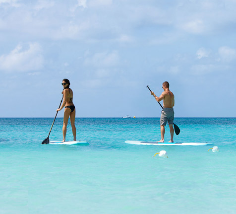 Stand Up Paddle in Cayman Island